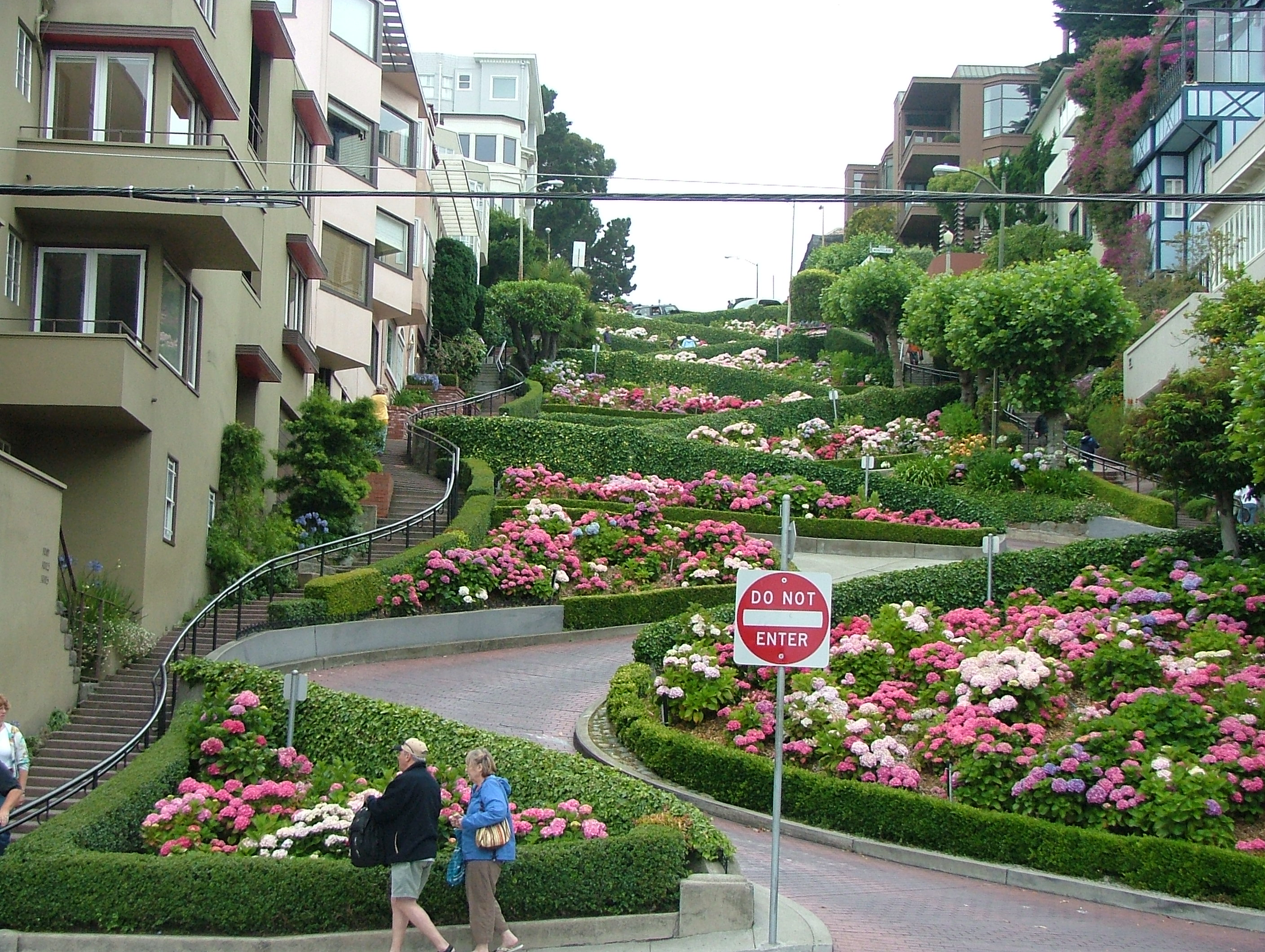 Crooked Street, San Francisco | Lombard Street in Downtown S… | Flickr