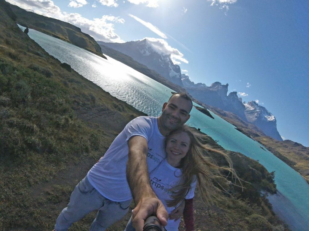 Exploring Patagonia.
